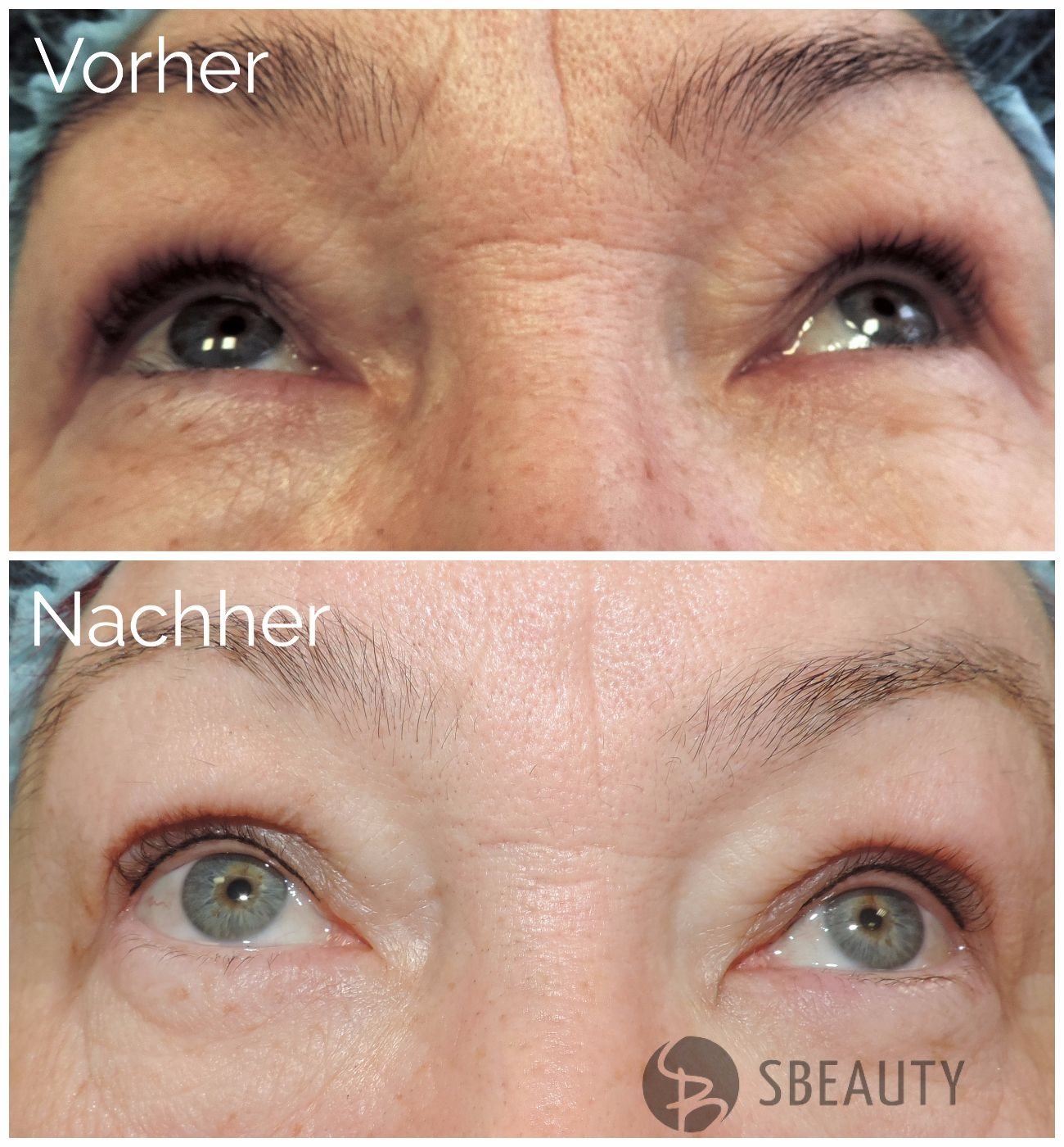 Permanent Make-Up Wimpernkranzverdichtung