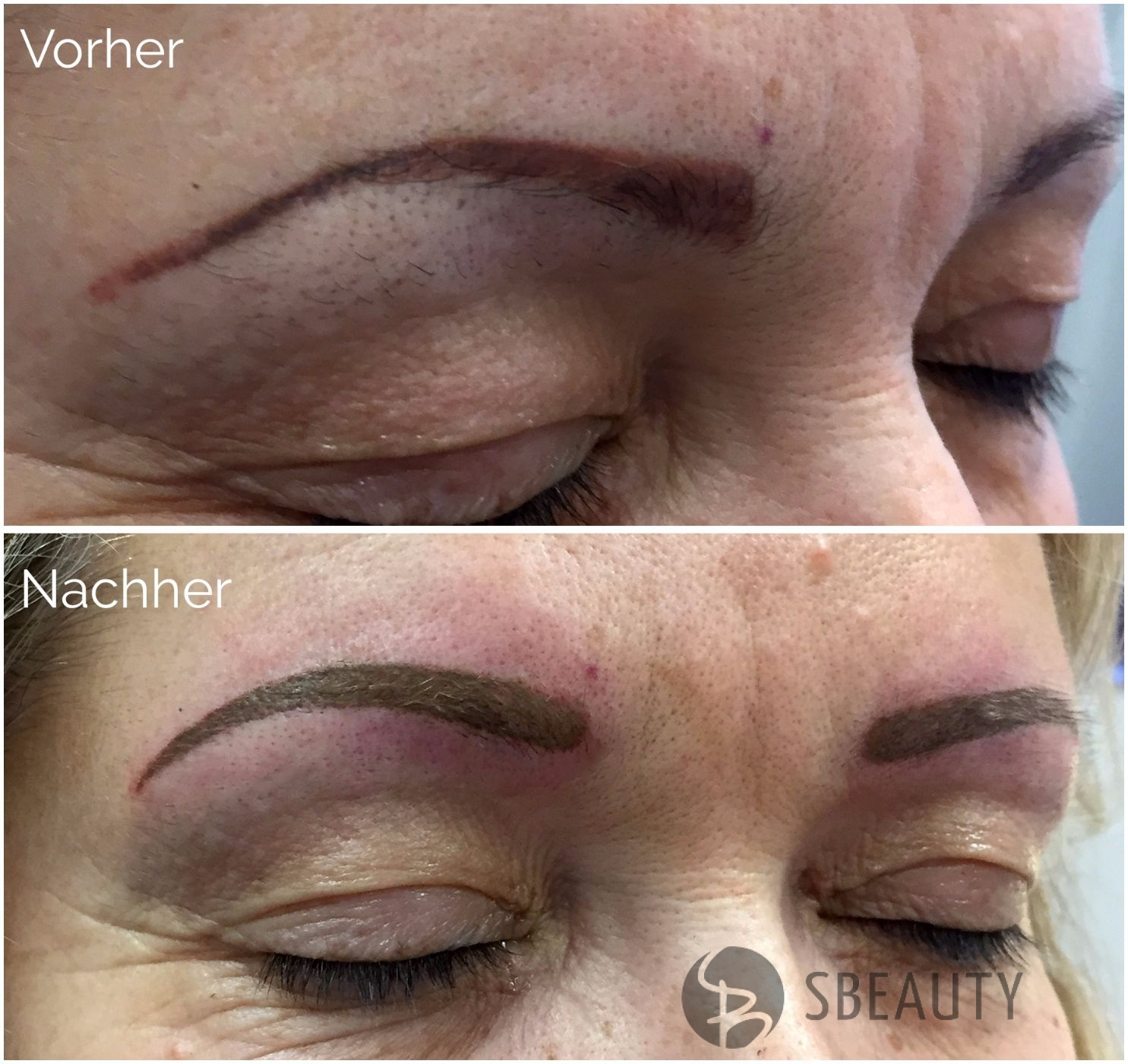 Permanent Make-Up Vollschattierung