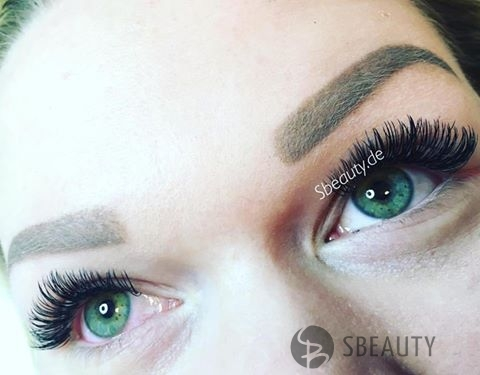 Wimpernverlängerung 1:1 Glamour Look – Cat Eye