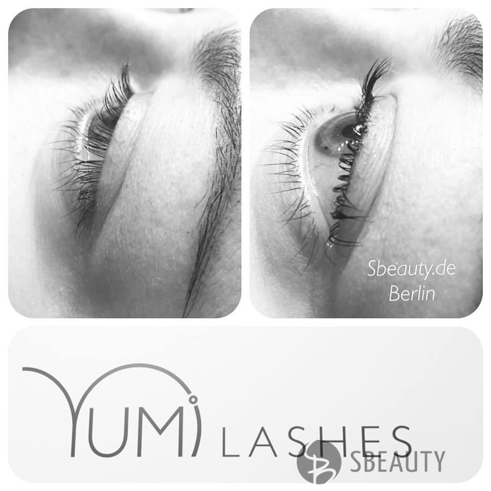 Keratin Yumi lashes Wimpernlifting
