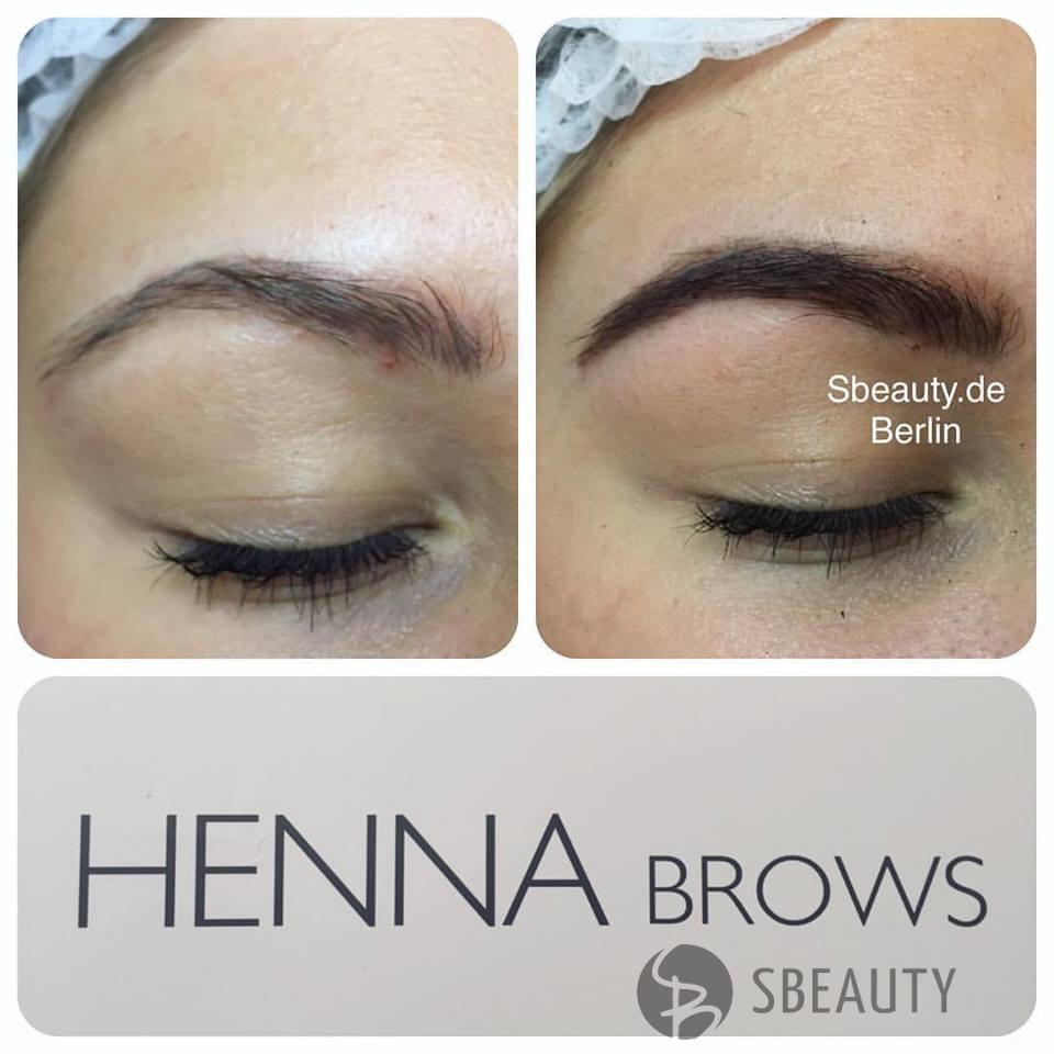 Augenbrauenkorrektur mit Henna Farbe  - Augenbrauenfärbung und Korrektur mit Tattoo-Effekt – Brow Henna ? ? Kennenlernen Angebot ( Augenbrauen zupfen + Henna ( Ombré oder eine Farbe komplett ) 39€ ? Behandlung dauert c.a 60 min  Brow Henna ist eine natürliche Henna für Augenbrauen mit Tattoo-Effekt. Sie färbt die Augenbrauen und die Haut, welche sich zwischen den Härchen befindet und sorgt damit für ein dauerhaftes Ergebnis, welches bis zu sechs Wochen anhält. ( je nach Hauttyp ) . Auf Haut Henna hält bis max 2 Wochen , auf härschen 4-6 Wochen. Gleichzeitig werden ihre eigenen Augenbrauen durch die natürlichen Substanzen gepflegt und gestärkt. Mit jeder Behandlung werden die Härchen gesünder, fester und glanzvoller. Auch für Allergiker, Schwangere und stillende Mütter ist diese Henna bestens geeignet. ?Vorteile:? ✅1. Absolut harmlose natürliche Prozedur. ✅2. Löst keine Allergien aus ✅3. Auf Wasserbasis, ohne Ammoniak. ✅4. Auch für schwangere Frauen geeignet ✅5. Sie können die Augenbrauenform variieren ✅6. Schädigt nicht die Haut und Haarstruktur ✅7. Regeneriert die Augenbrauenstruktur ✅8. Korrigiert die Asymmetrie der Augenbrauenform ✅9. Hilft eine stabile Farbe und langwierigen Effekt gepflegter Augenbrauen zu erreichen ✅10. Stimuliert den Haarwachstum